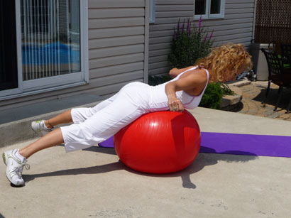 Le ballon d'exercices (suite)