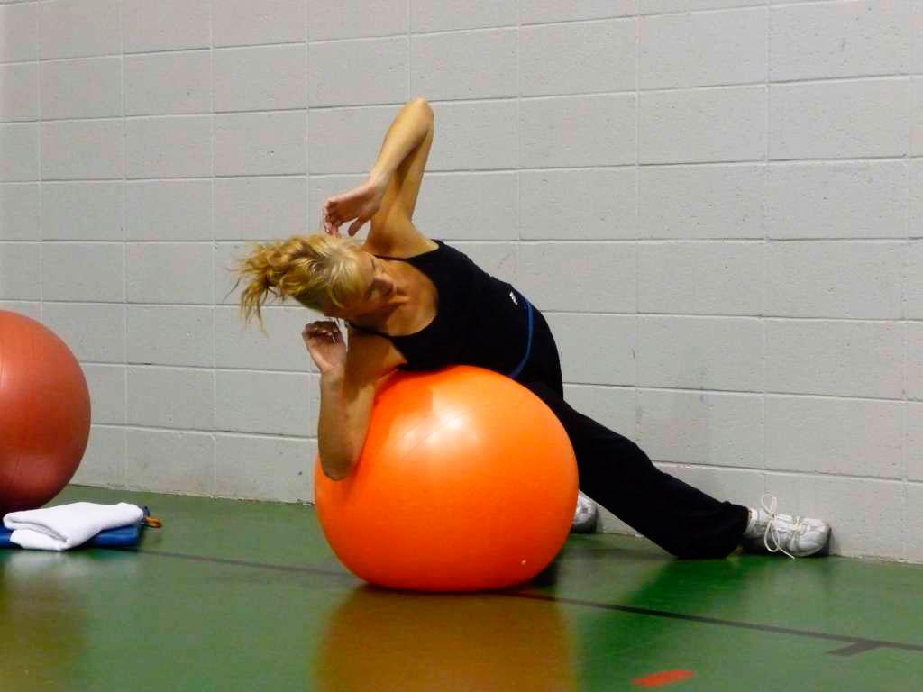 Ballon et obliques